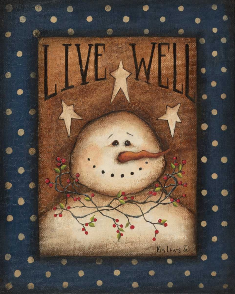 Live Well Lewis, Kim 45562