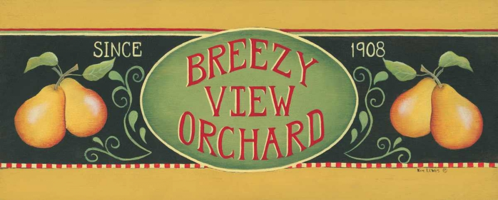 Breezy View Orchard Lewis, Kim 45608