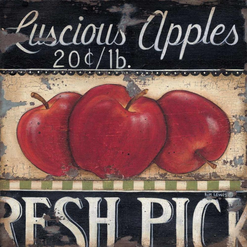 Luscious Apples Lewis, Kim 45641
