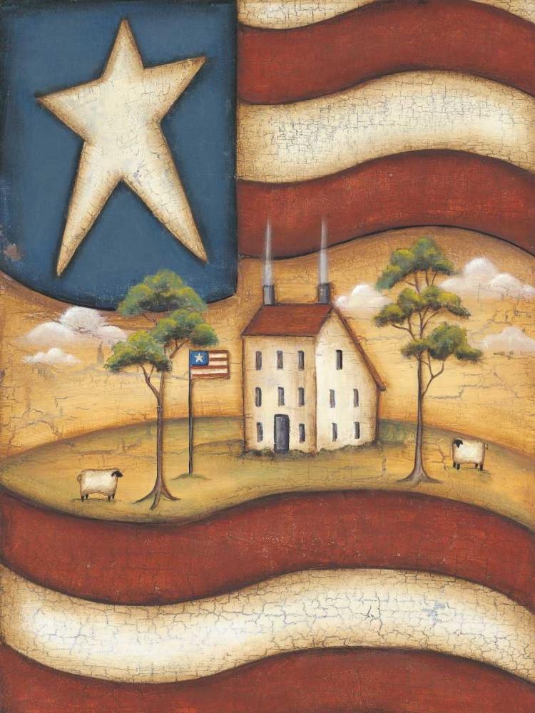 Folk Flag Lewis, Kim 45720