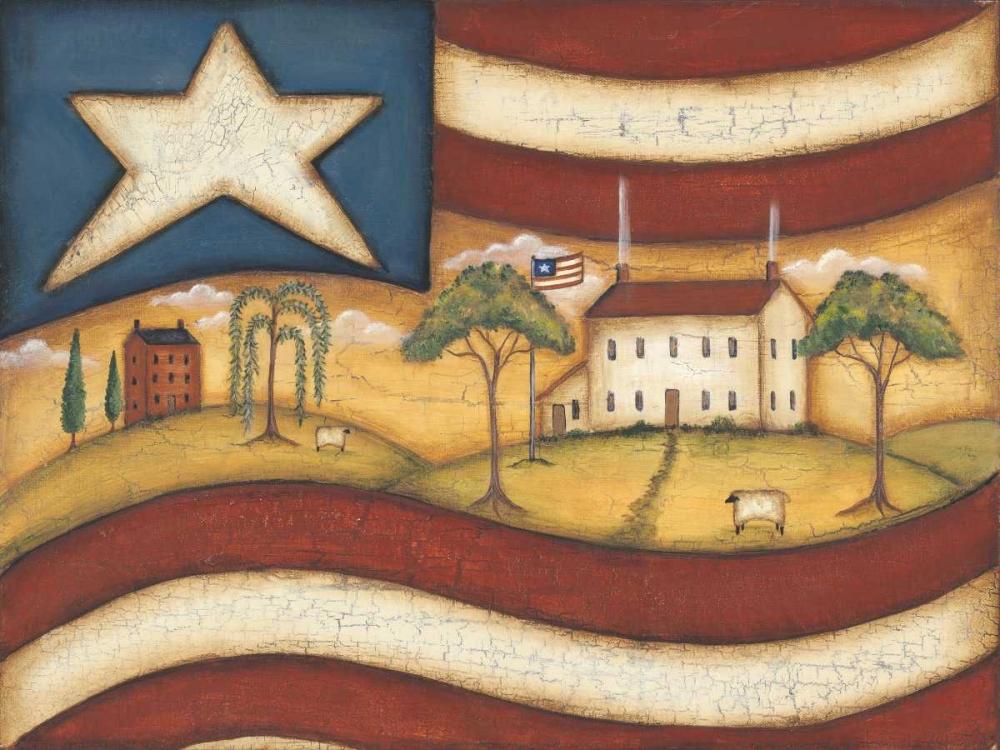 Folk Flag II Lewis, Kim 45721