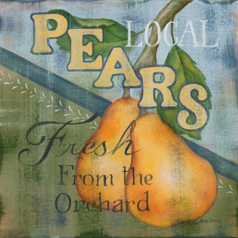 Local Pears Lewis, Kim 48896
