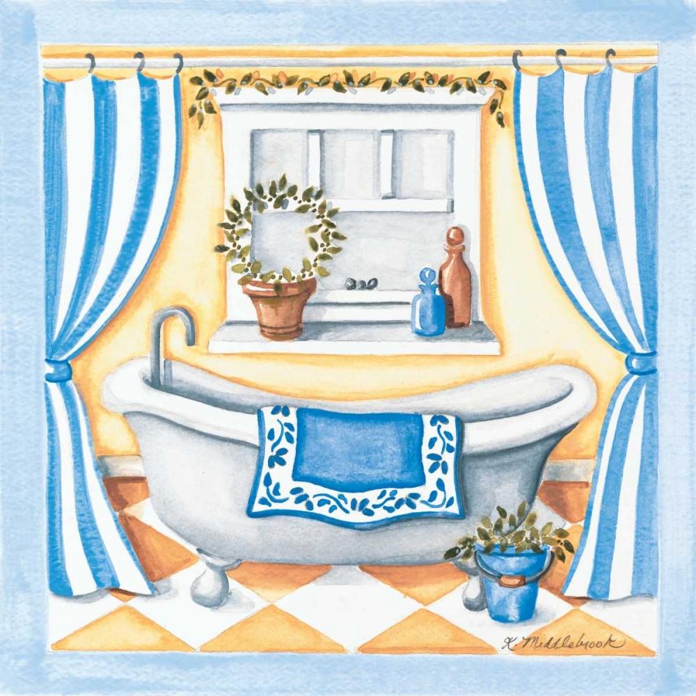 Blue Bathroom Tub Middlebrook, Kathy 45770