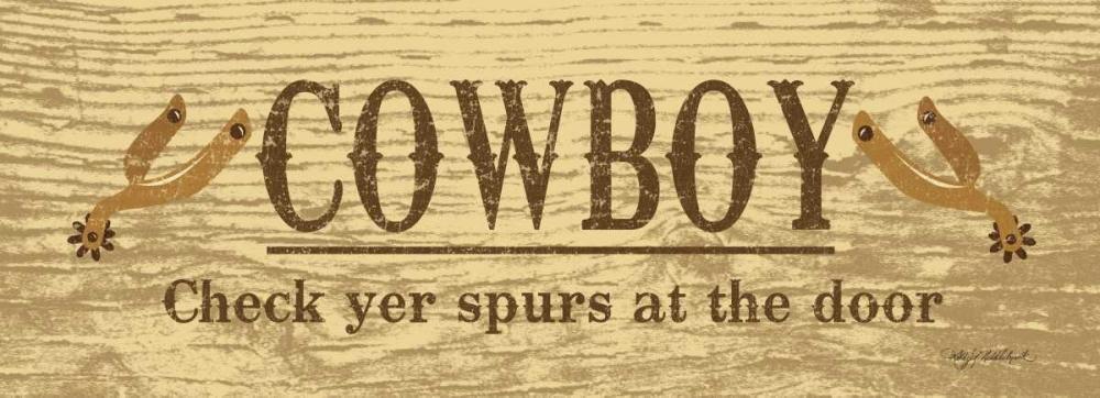 Cowboy Spurs Middlebrook, Kathy 60230