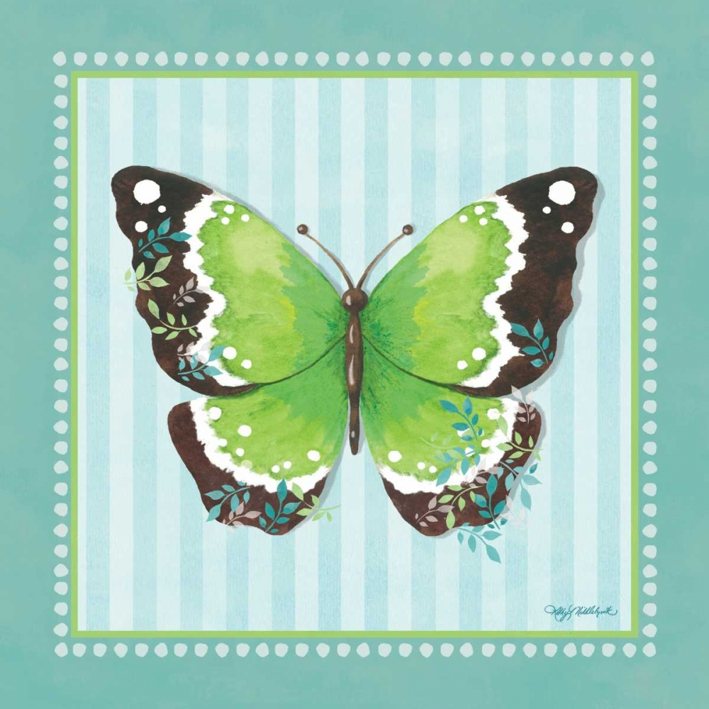 Green Butterfly - Stripe Middlebrook, Kathy 62205