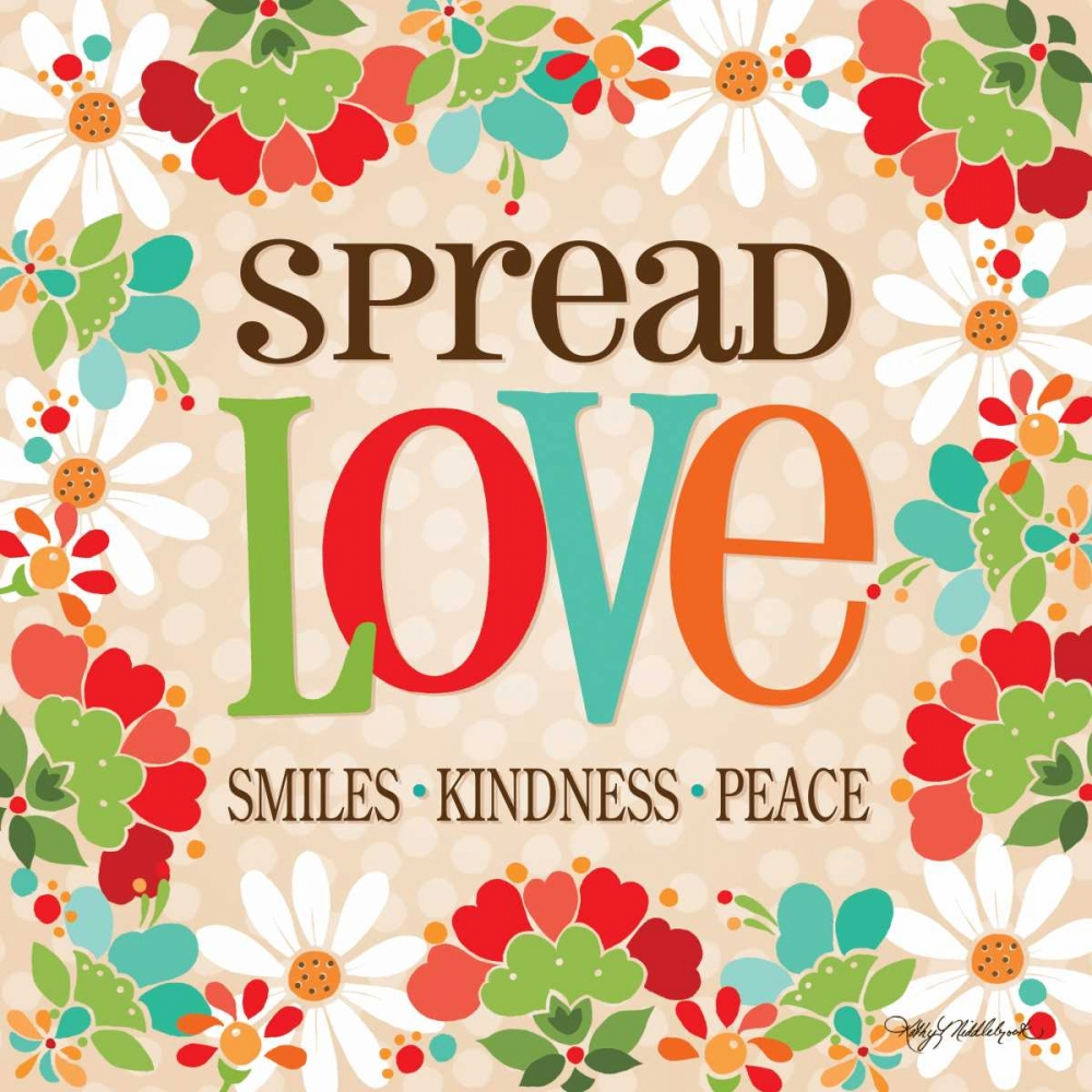 Spread Love Middlebrook, Kathy 81033