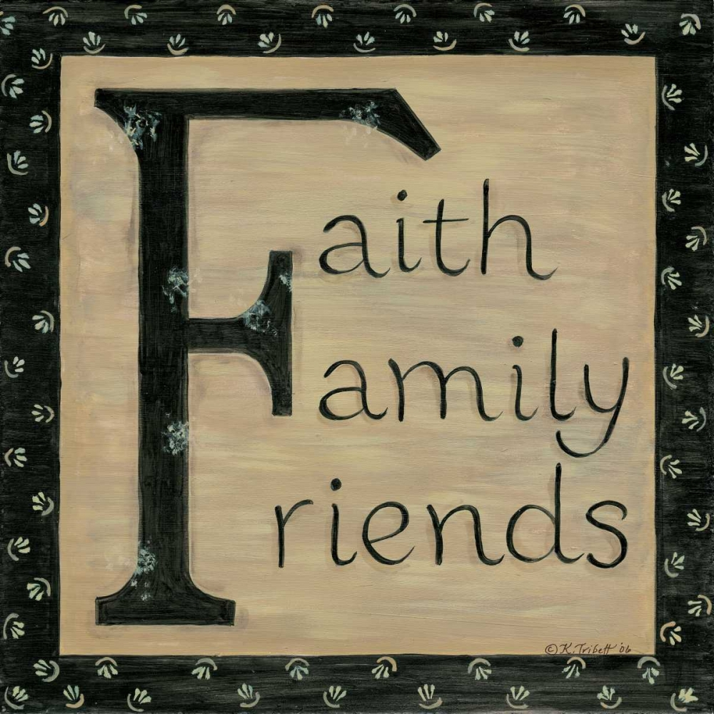 Faith Family Friends Tribbet, Karen 45913