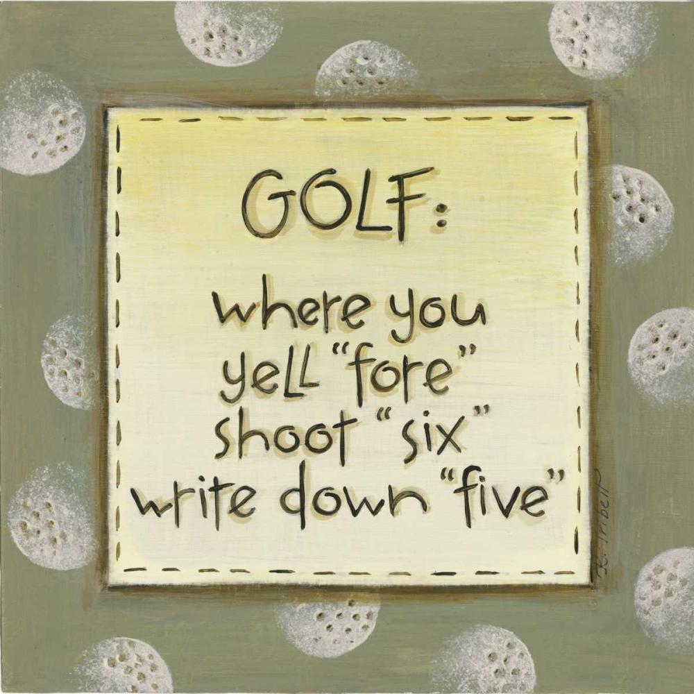 Golf Tribbet, Karen 45968