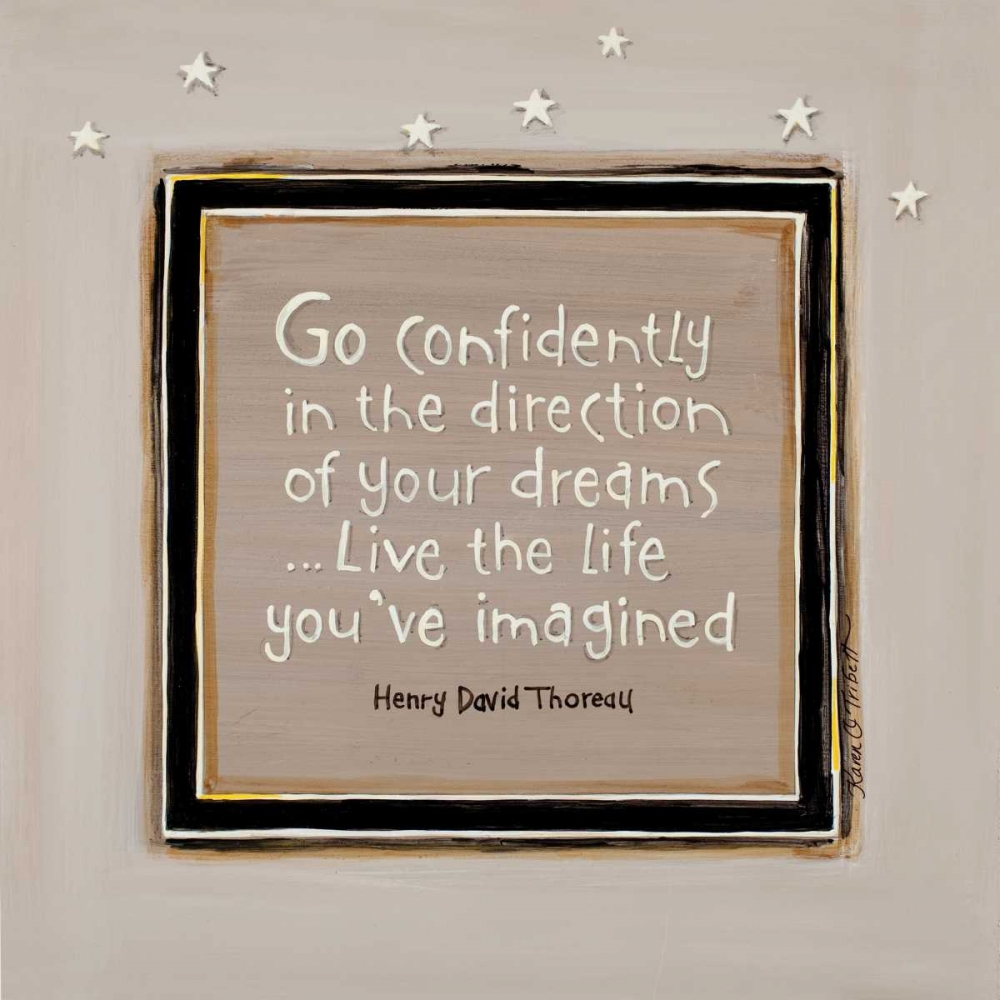 Go Confidently Tribbet, Karen 46013