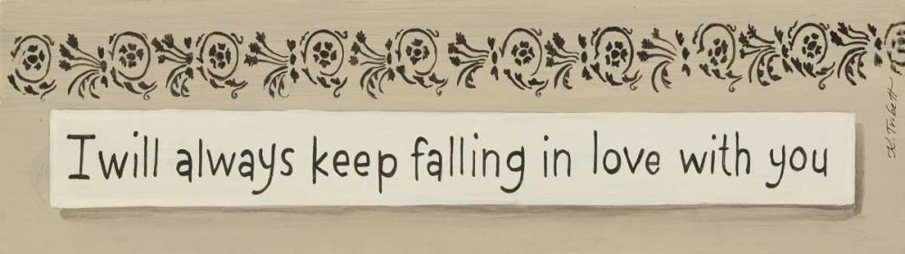 Always Keep Falling Tribbet, Karen 46032