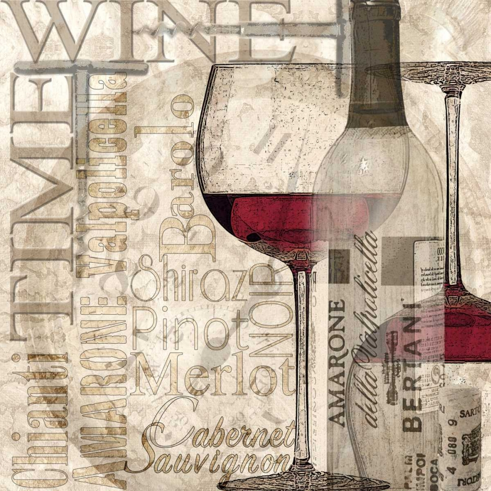 Time for Wine - Red Wolk, Lisa 62396