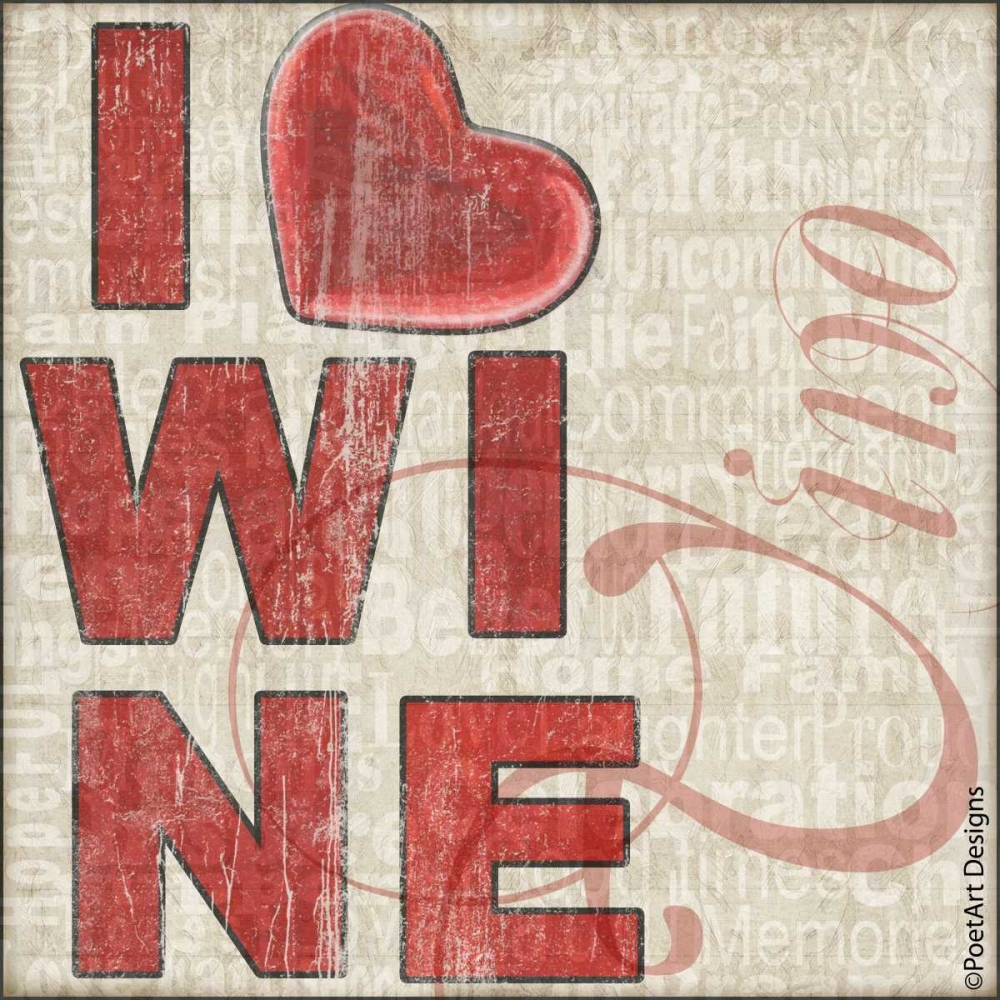 I Heart Wine Wolk, Lisa 62415