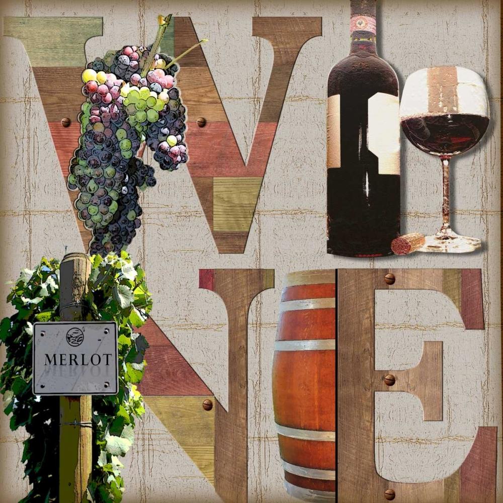 Merlot Wine Wolk, Lisa 77712