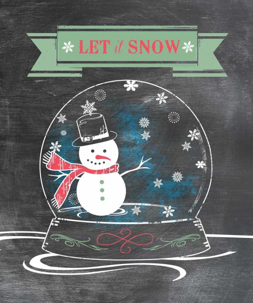 Let It Snow - Green Longfellow Designs 46110