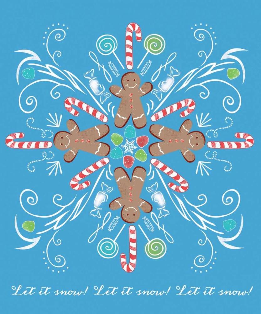 Candyman Snowflake Longfellow Designs 48945