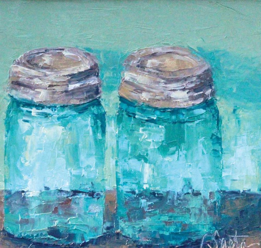 Two Blue Jars Saeta, Leslie 41826