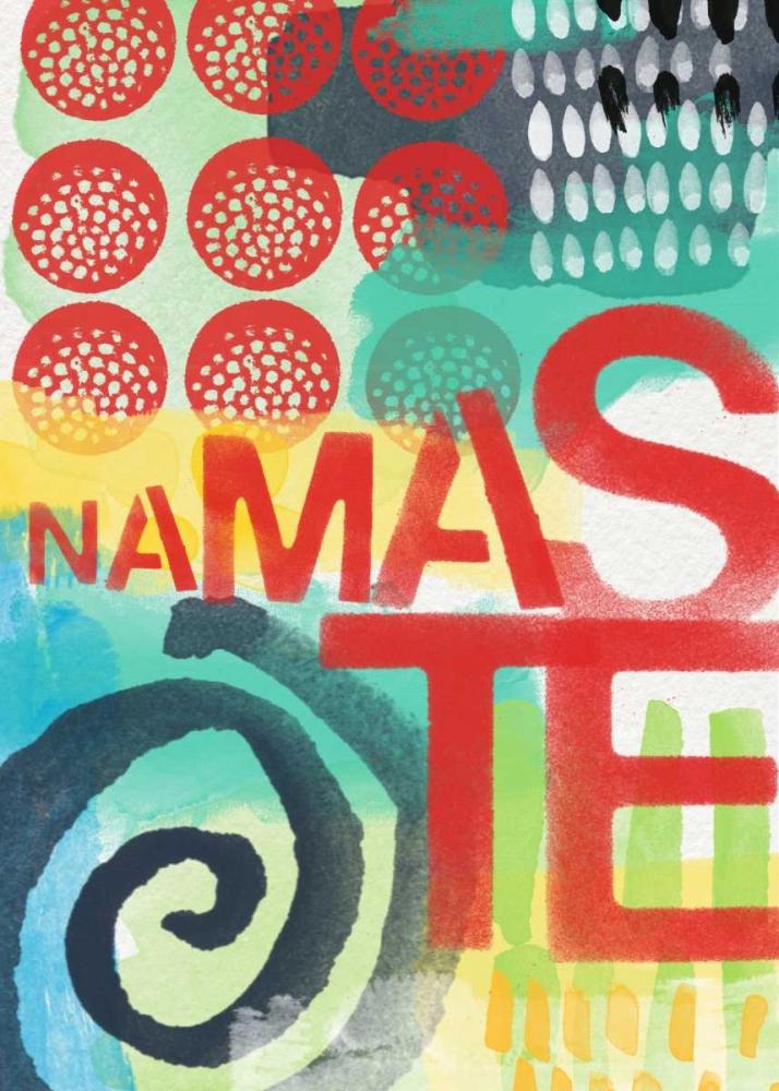 Abstract Namaste Woods, Linda 46145