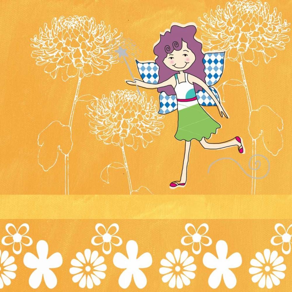 Orange with Fairy Woods, Linda 48989