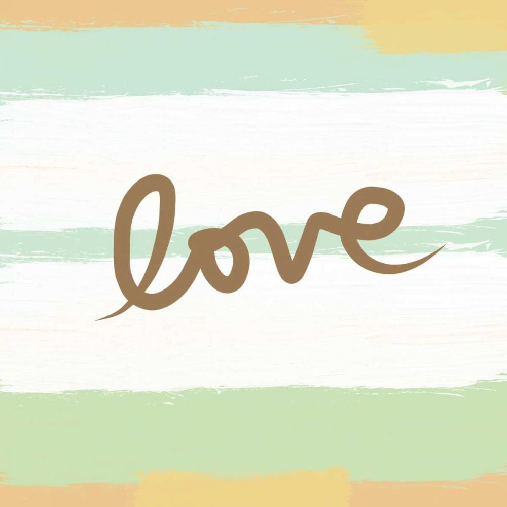 Love Stripes - Mint Woods, Linda 49063