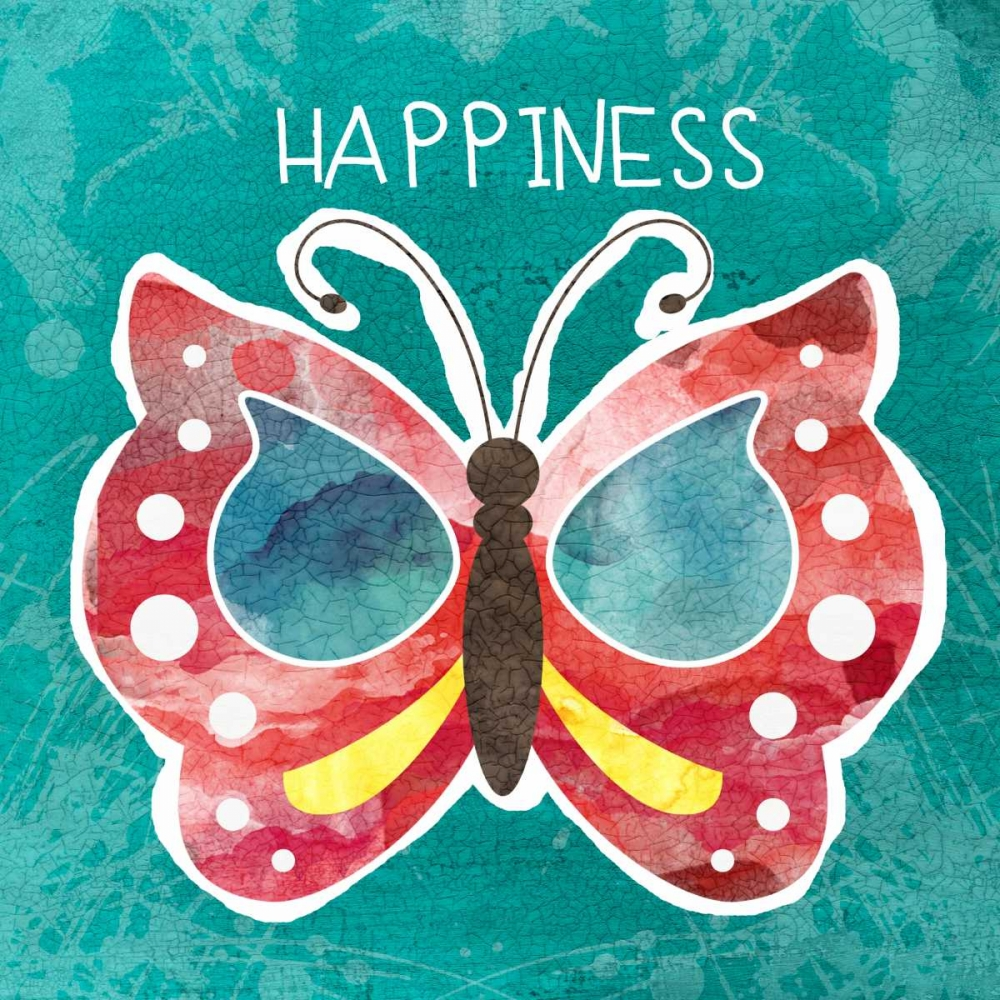 Boho Butterfly Happiness Woods, Linda 63124