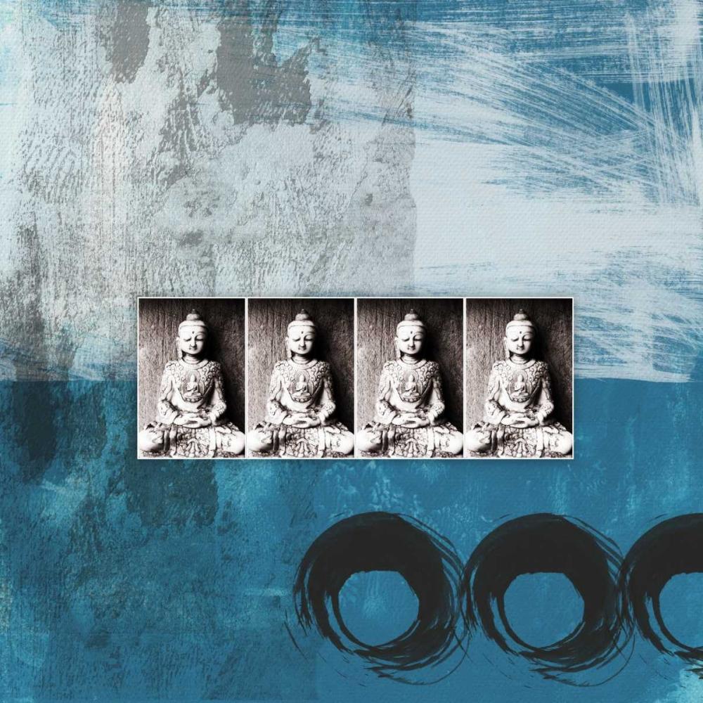 Four Buddhas - Blue Woods, Linda 66658