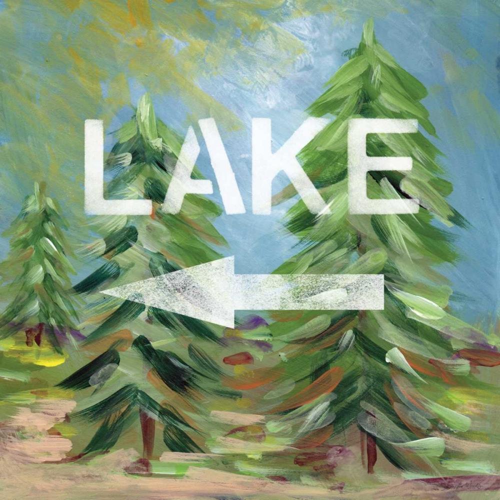 Lake Sign Woods, Linda 88592