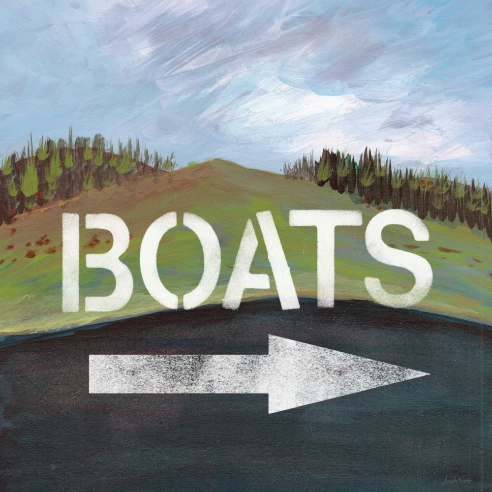 Boats Woods, Linda 88595