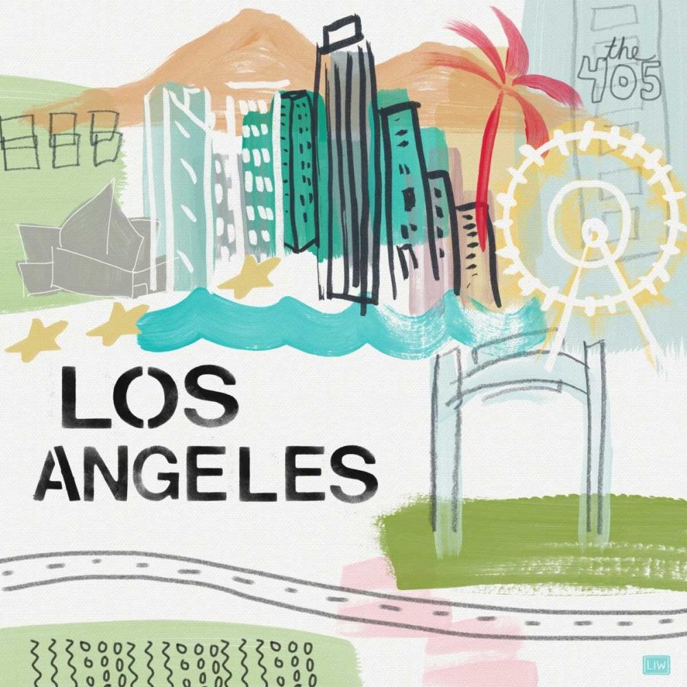 Los Angeles Woods, Linda 88605