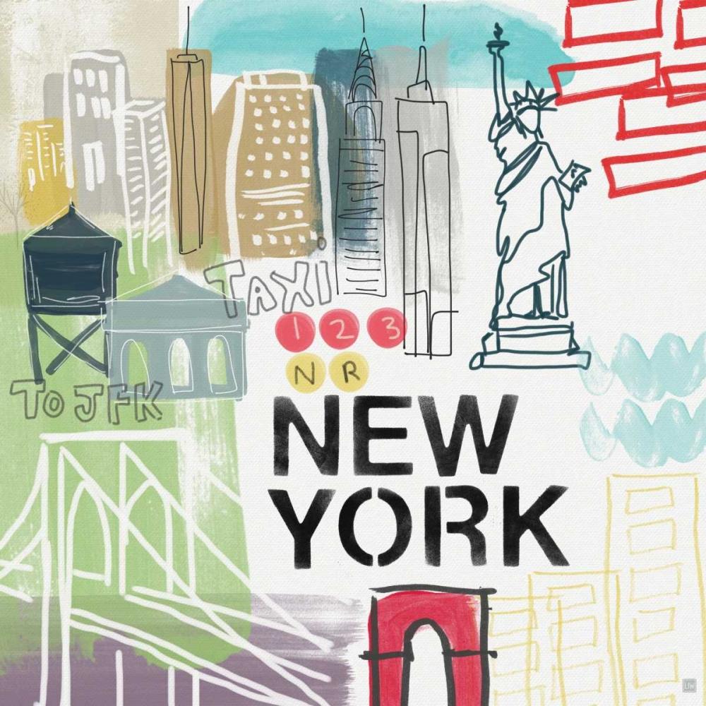 New York Woods, Linda 88607