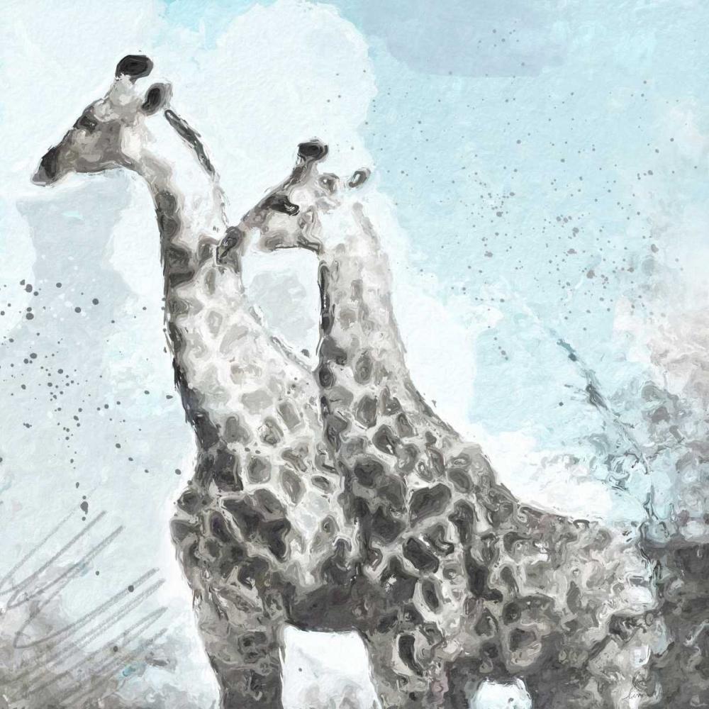 Two Giraffes Woods, Linda 104888