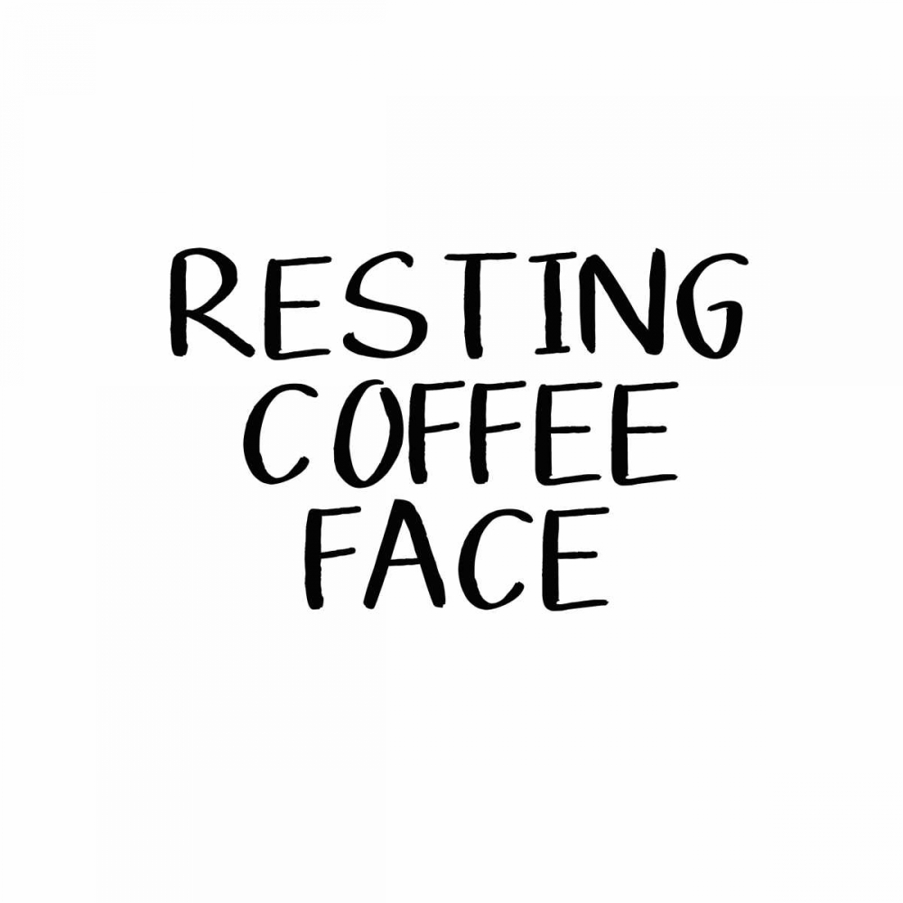 Resting Coffee Face Woods, Linda 126237