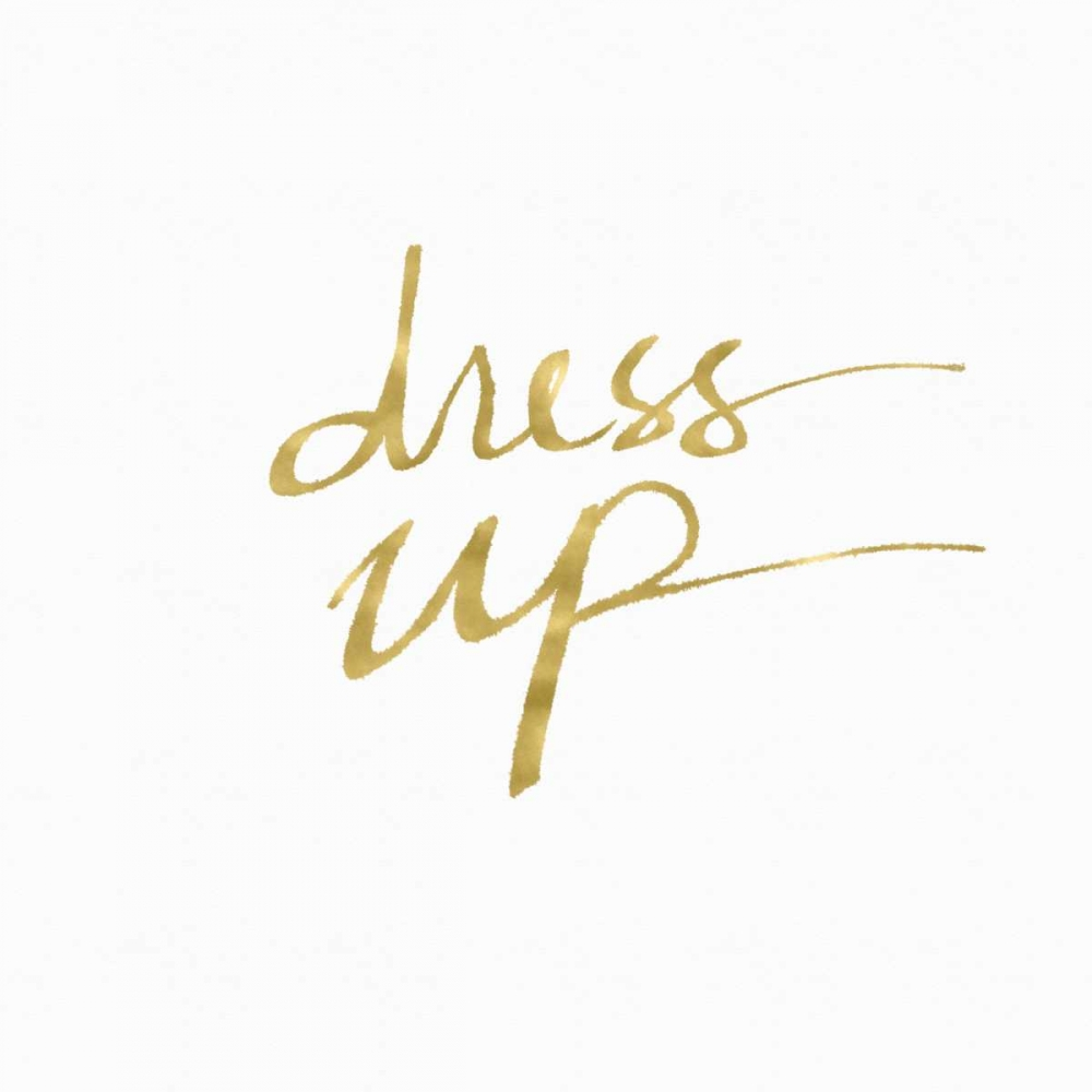 Dress Up in Gold Woods, Linda 126274