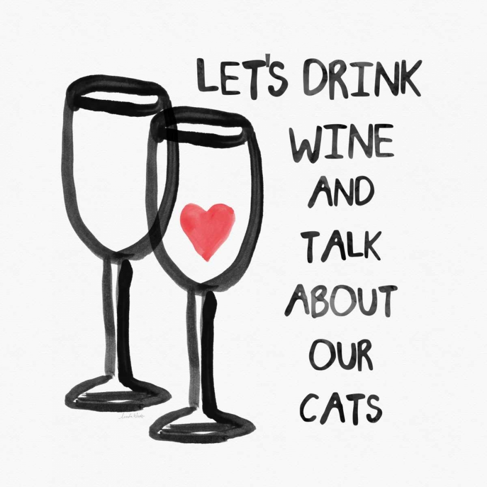 Wine and Cats Woods, Linda 141149
