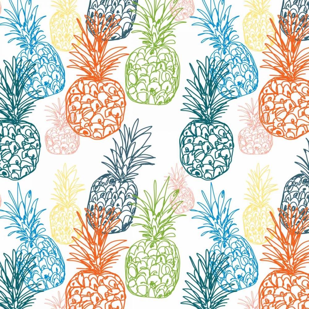 Happy Pineapples Woods, Linda 141152