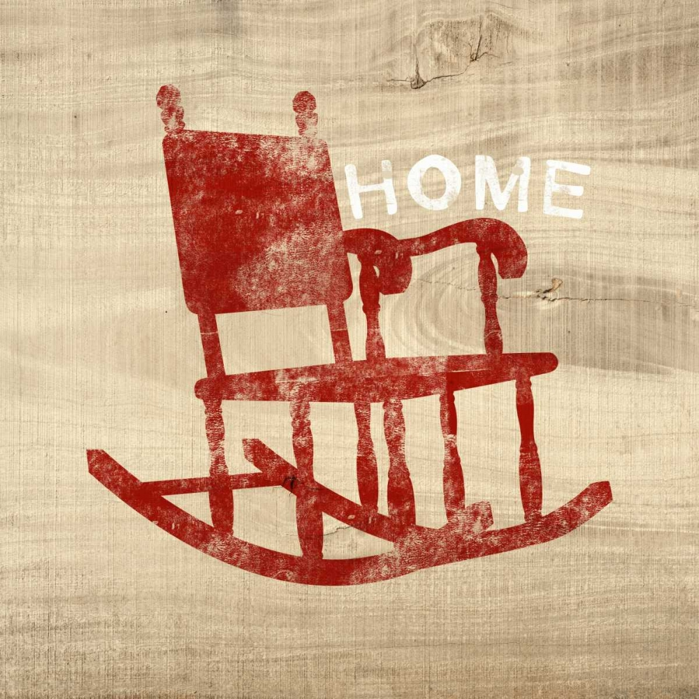 Home Red Chair Woods, Linda 141201