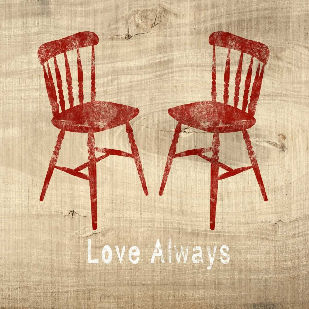 Love Always Chairs Woods, Linda 141202