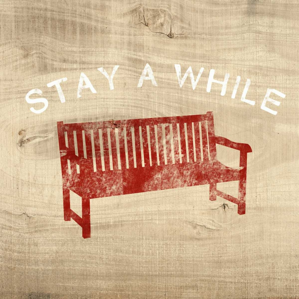 Stay a While Bench Woods, Linda 141203