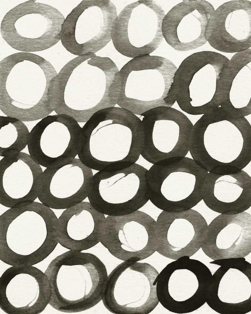 BW Circles Pattern Woods, Linda 141278