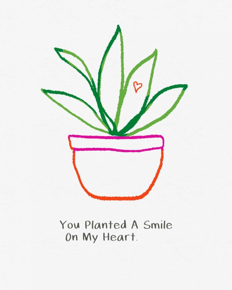 You Planted a Smile Woods, Linda 156706