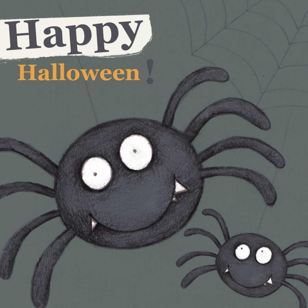 Happy Halloween Spider P.S. Art Studios 141308