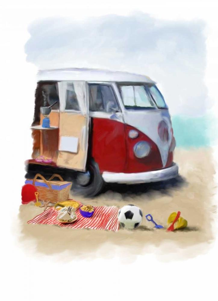 Beach Van P.S. Art Studios 141342