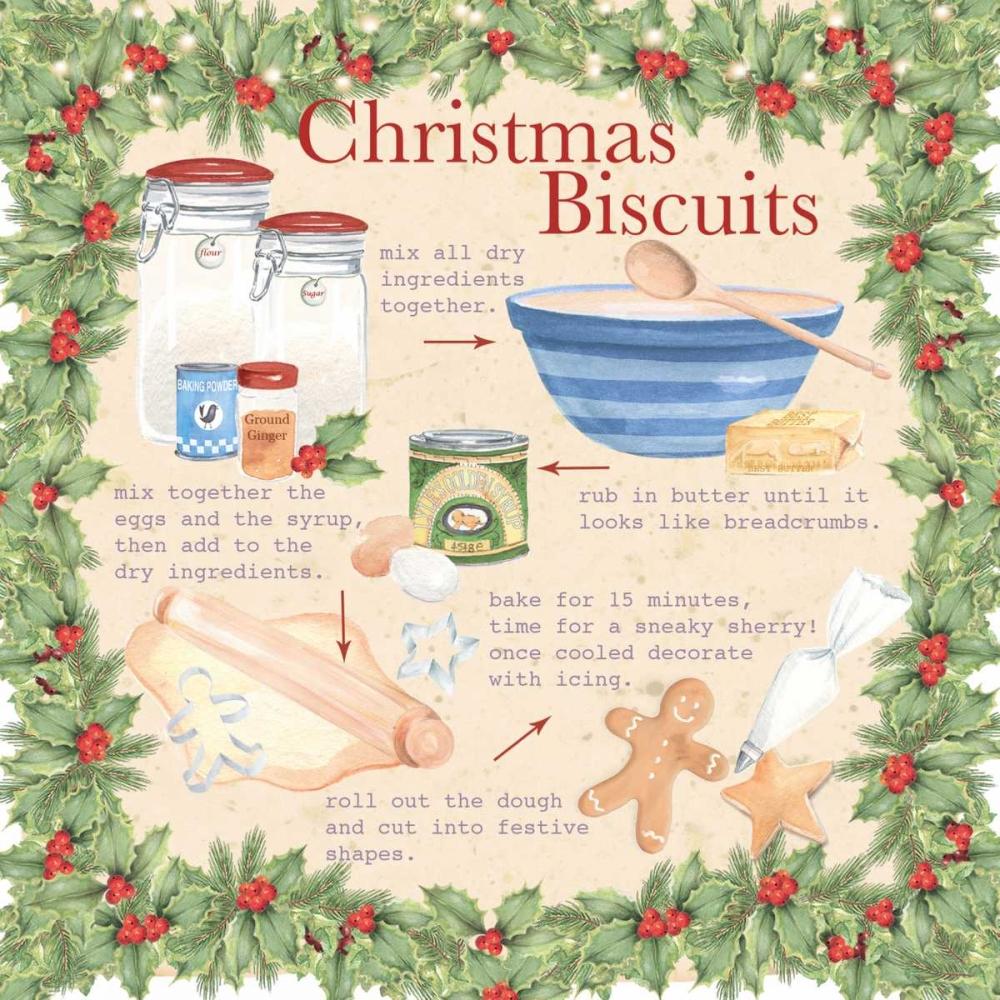 Christmas Biscuits P.S. Art Studios 141459