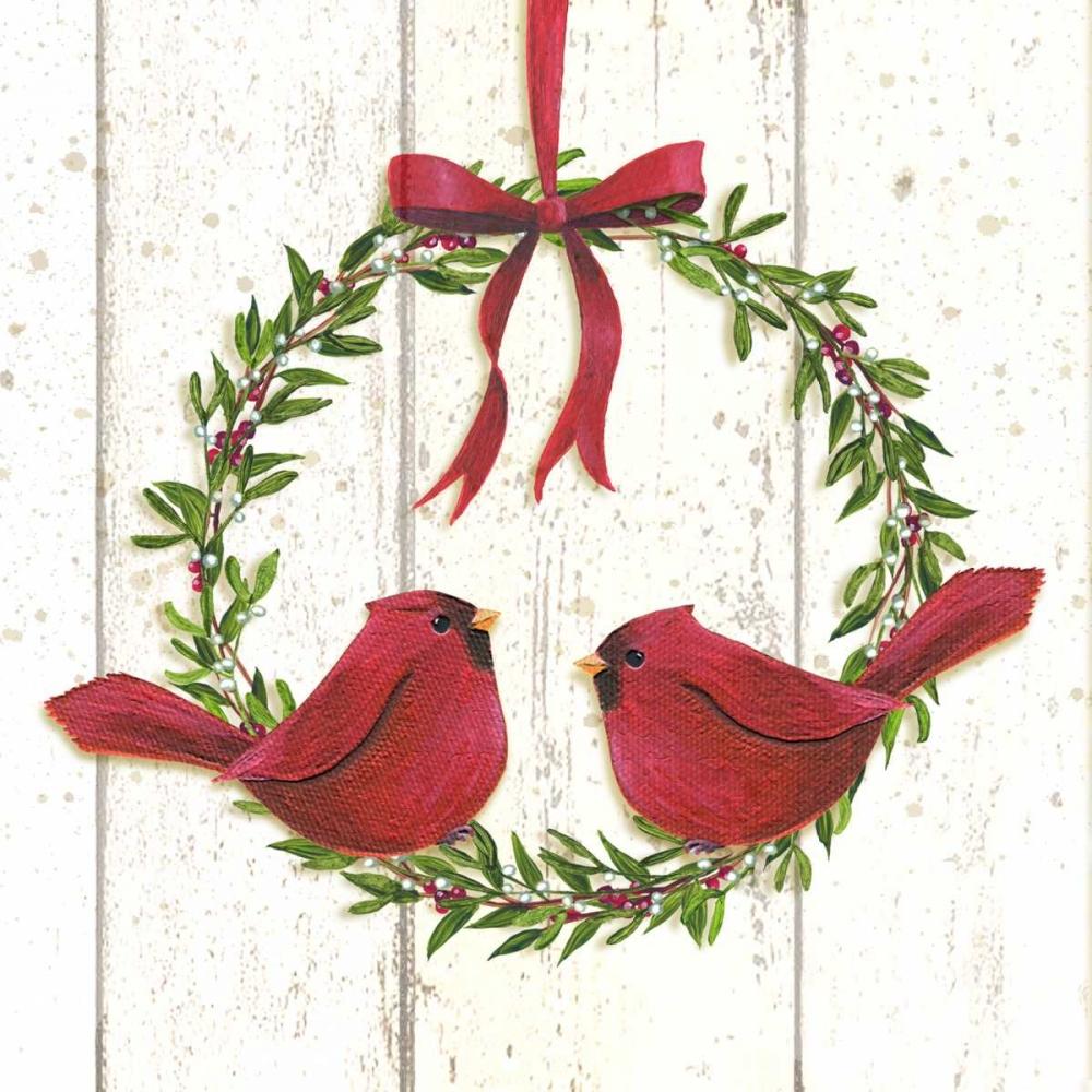 Cardinal Wreath P.S. Art Studios 141463