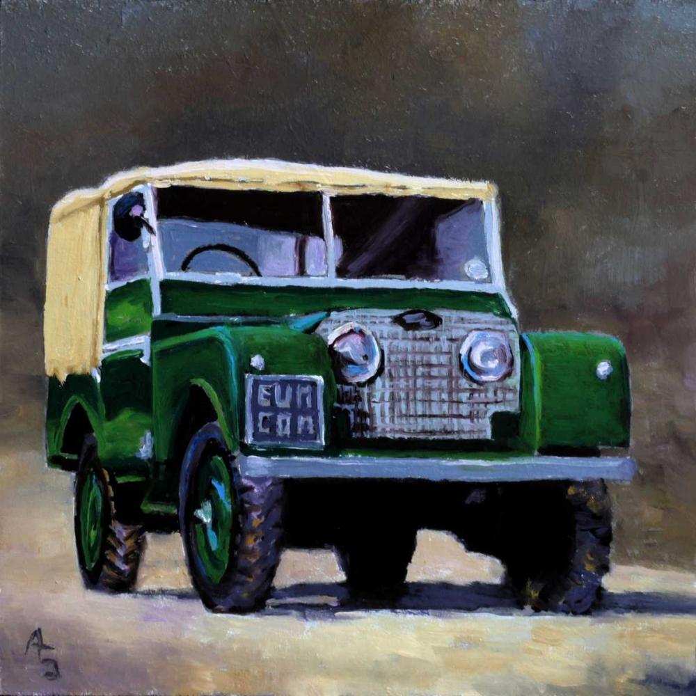 Green SUV P.S. Art Studios 156784