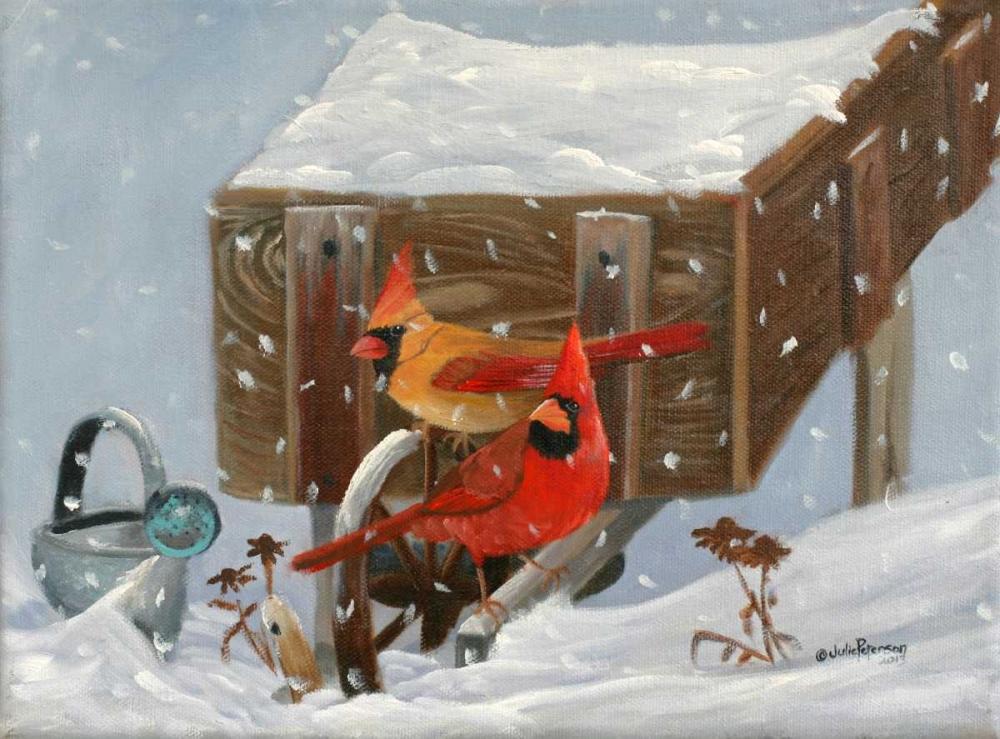 Winter Garden and Cardinals Peterson, Julie 49240
