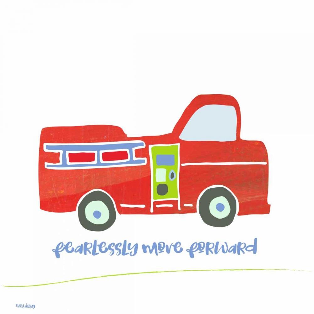 Go Fearlessly Firetruck Wingard, Pamela J. 153883