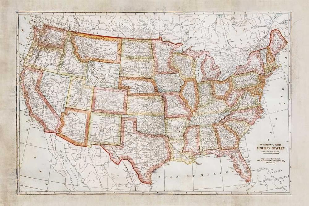 Map of USA Murdock, Ramona 141568