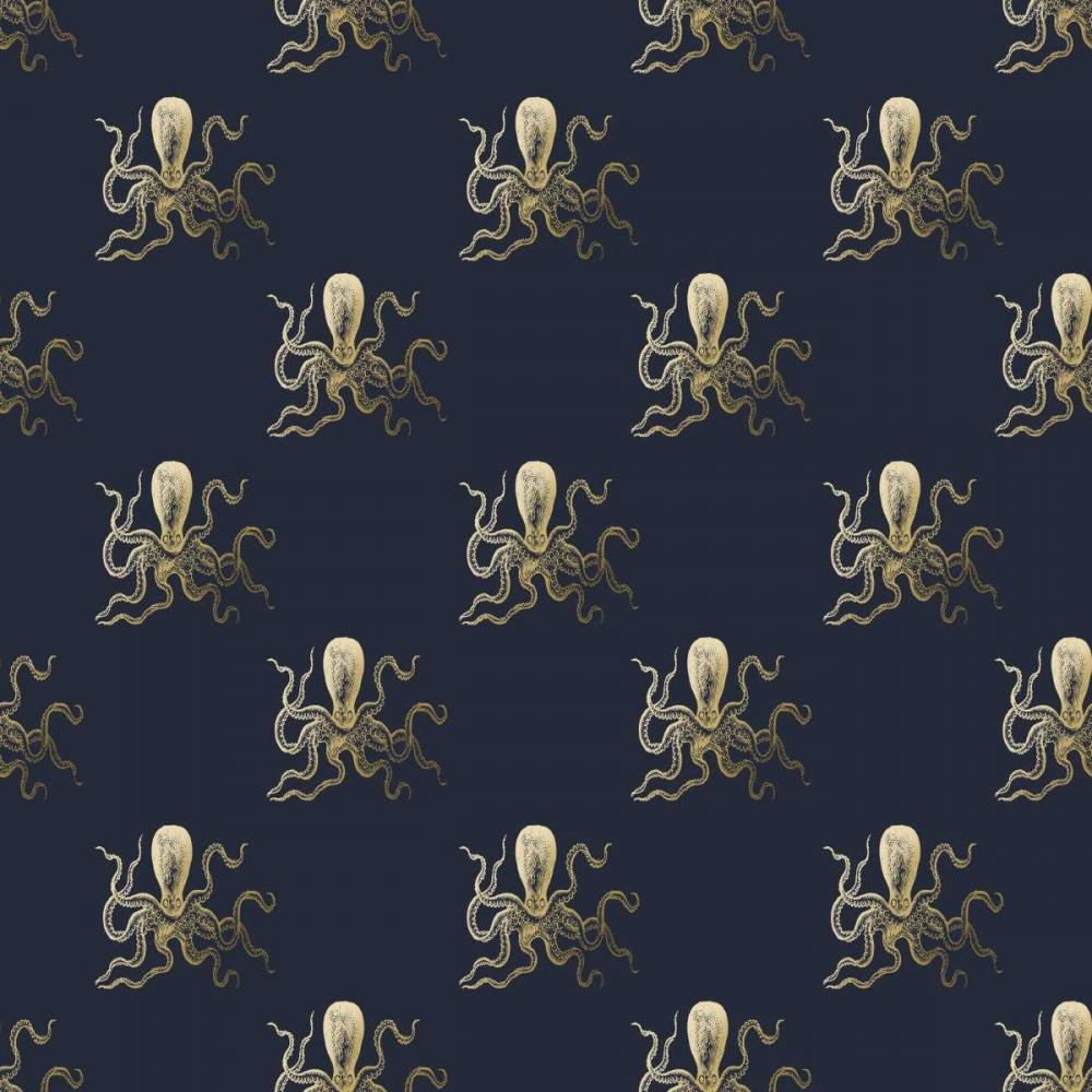 Gold Octopus Pattern Murdock, Ramona 154010