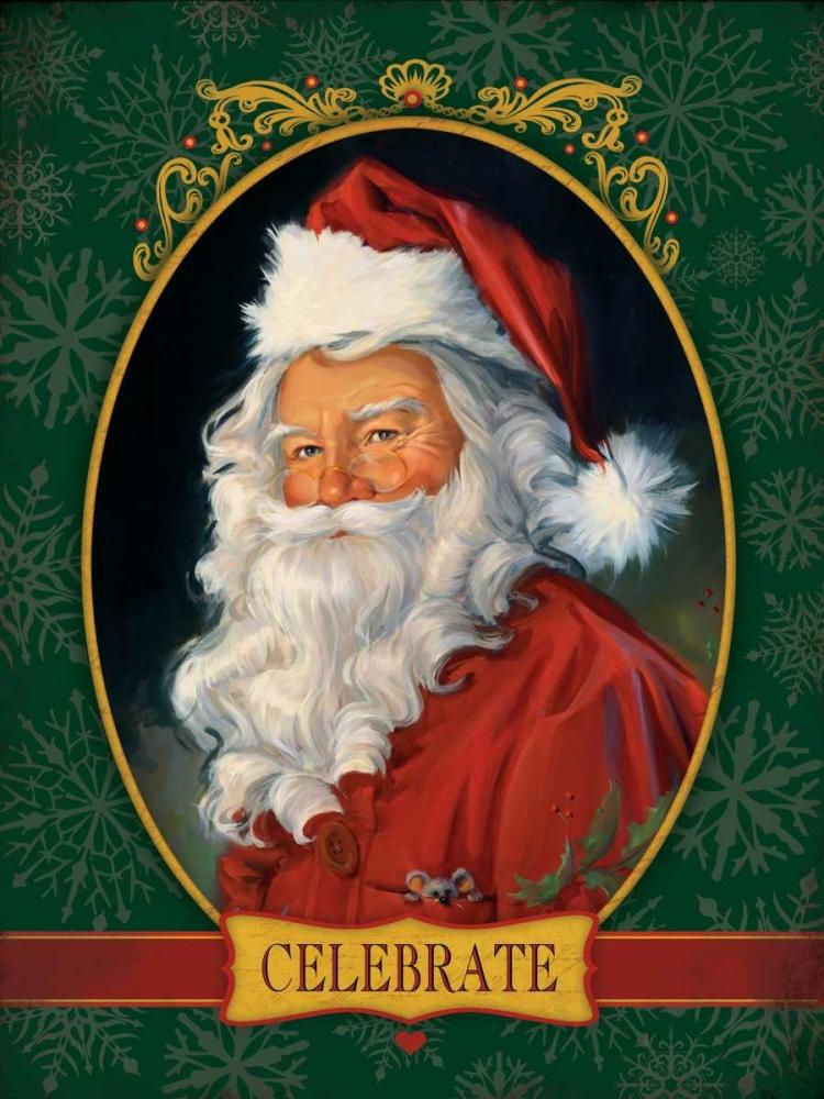 Santa Celebrate Comish, Susan 49284