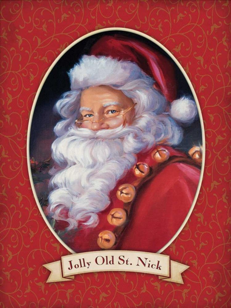 Jolly Old St. Nick Comish, Susan 49285